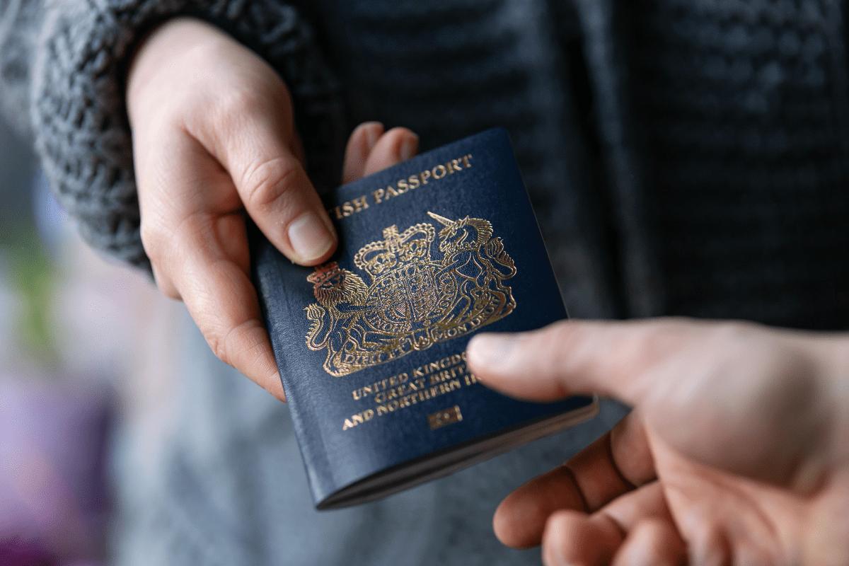 renewing british passport from overseas